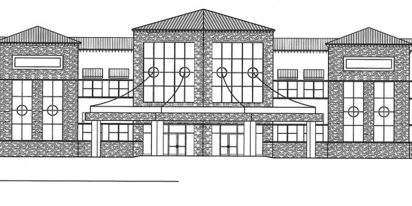 columbia-medical-center-front-elevation-black-white